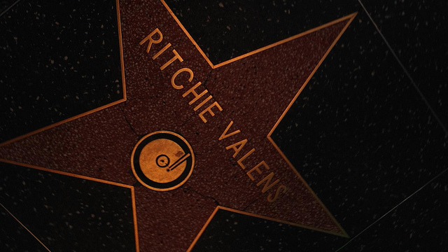 Ritchie Valens' star on the Hollywood Walk of Fame © Photography by A.G./Flickr