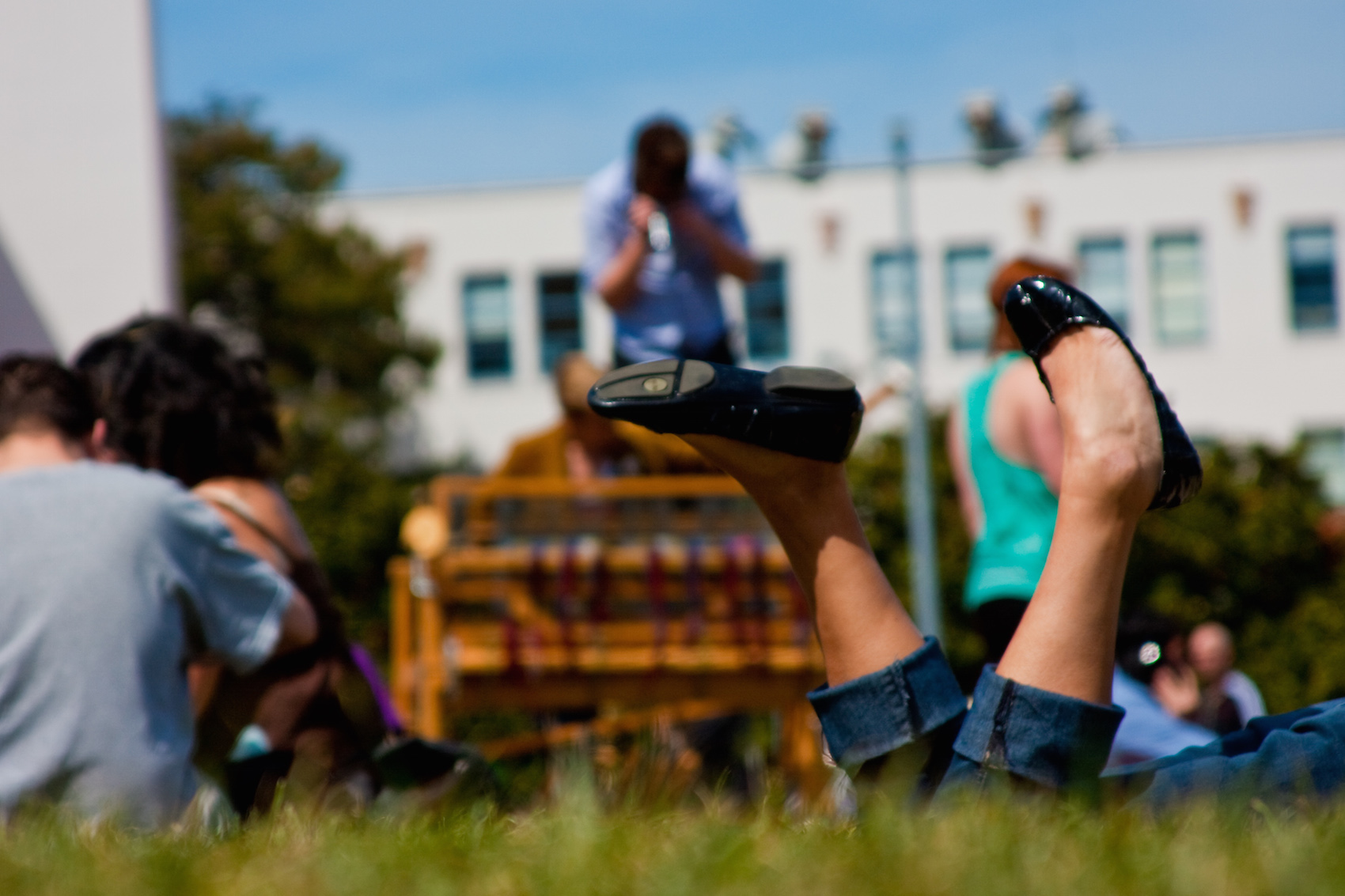 Girl at Delores Park | © Jesse! S?/Flickr