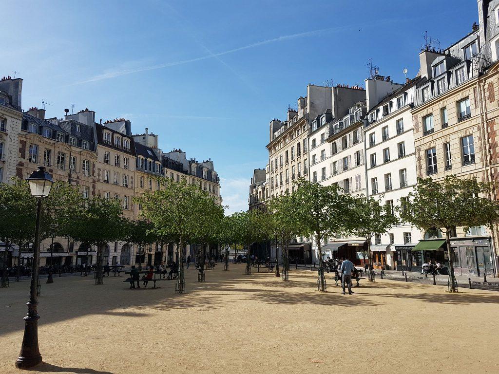 Place Dauphine │© Koudkeu / Wikimedia Commons