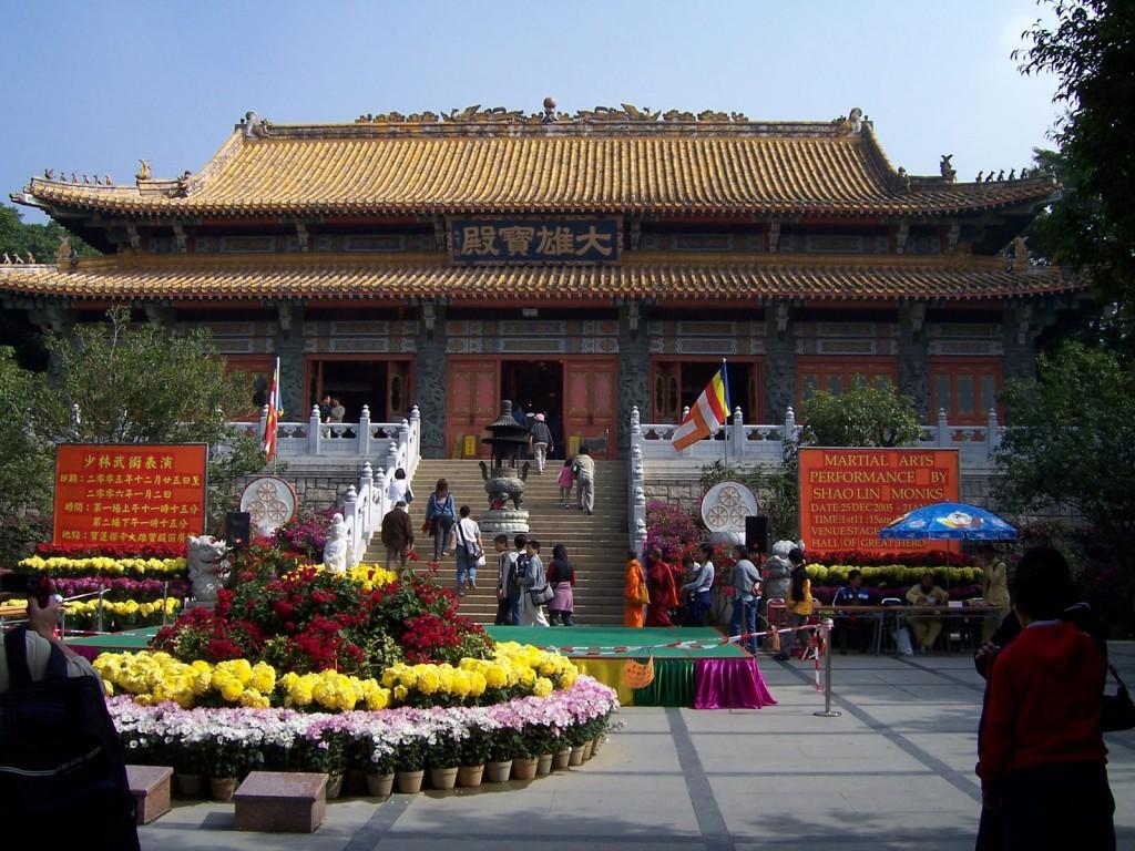Po Lin Monastery © Enochlau / Wikicommons