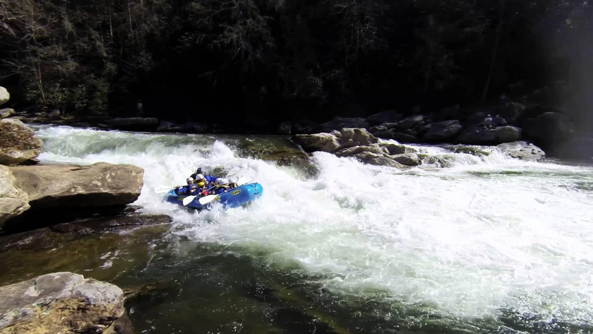 Rafting in Rishikesh © Wikicommons