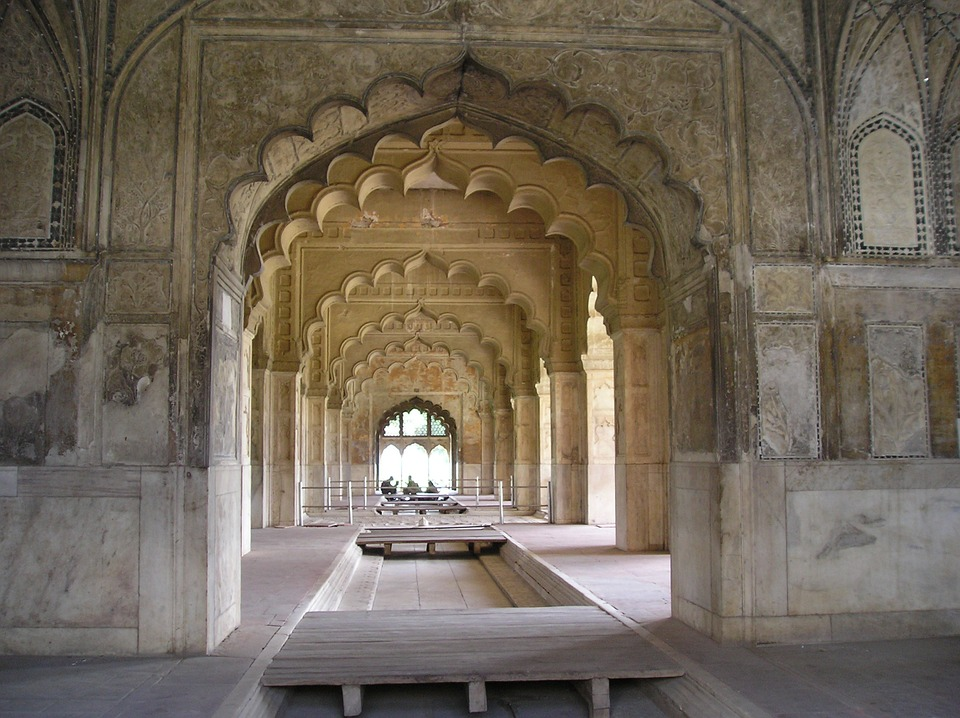 Characteristic Mughal arches/©nitell/Pixabay