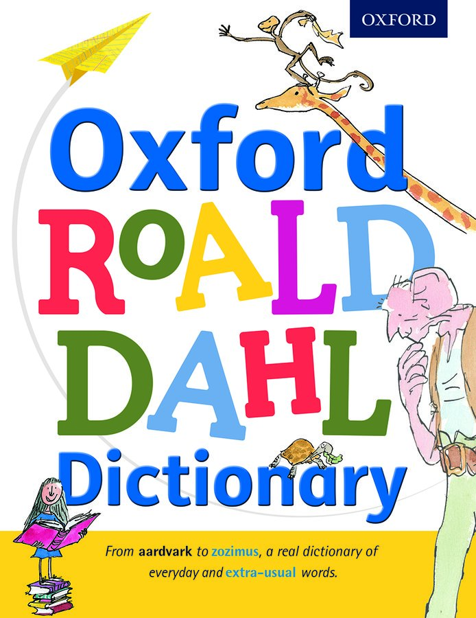 Image result for roald dahl dicitonary