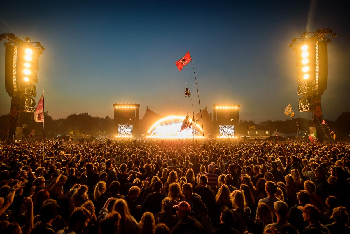 The Orange Stage at Roskilde Festival 2015 | Courtesy Roskilde Festival