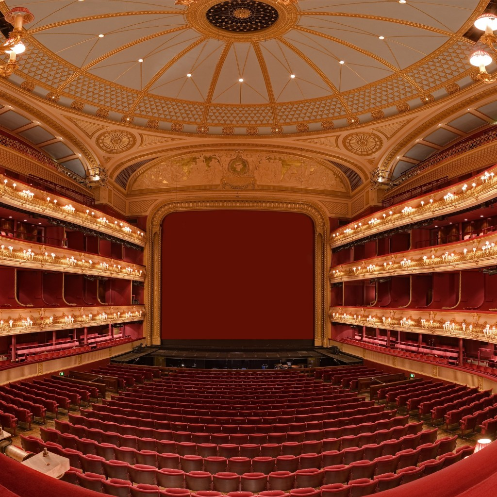 Royal Opera House Auditorium, London | © Alex Pearson/Courtesy of the Royal Opera House