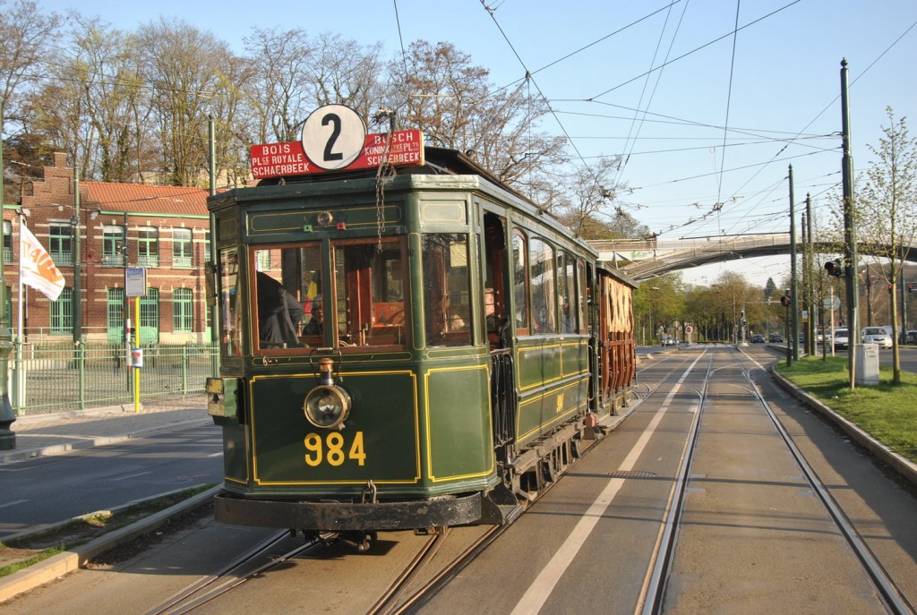 Historic Brussels Tram | Courtesy of The Brussels Tram Museum