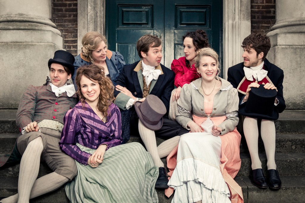 Austentatious Cast | Courtesy of Austentatious