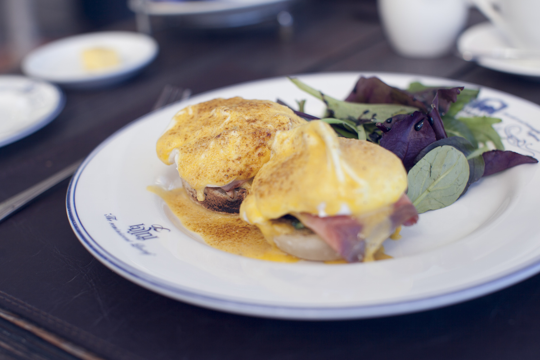 Salmon Eggs Benedict Breakfast