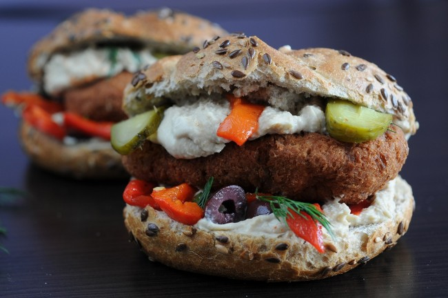 Veggie Burger/ ©Pixabay