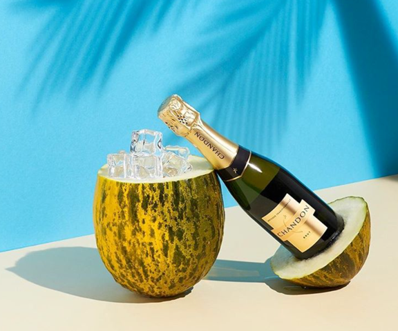 Chandon's Sparking is as dreamy as an escape vacation | Image courtesy of Domaine Chandon