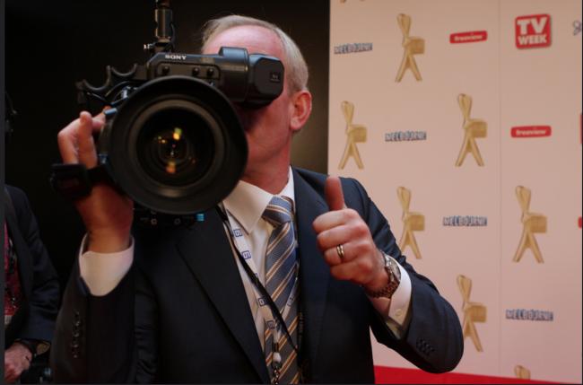 TV WEEK's Logies 2011 with media in action. © Eva Rinaldi on Flickr