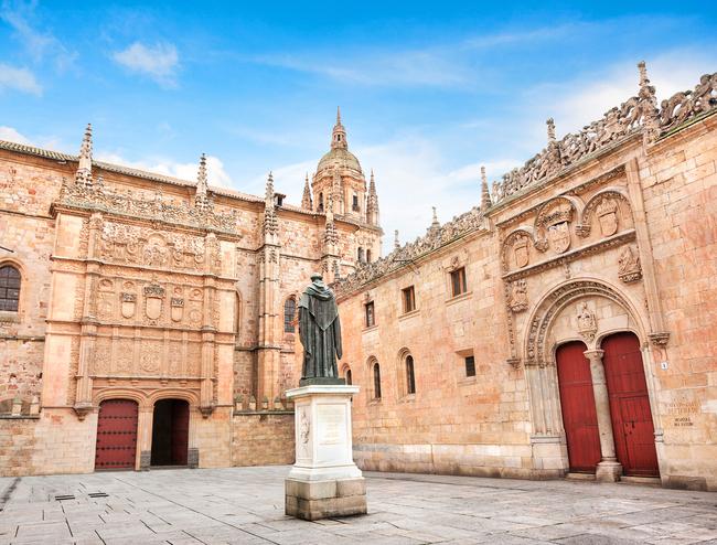 University of Salamanca in the Castilla y Leon region of Spain   © Canadastock/Shutterstock