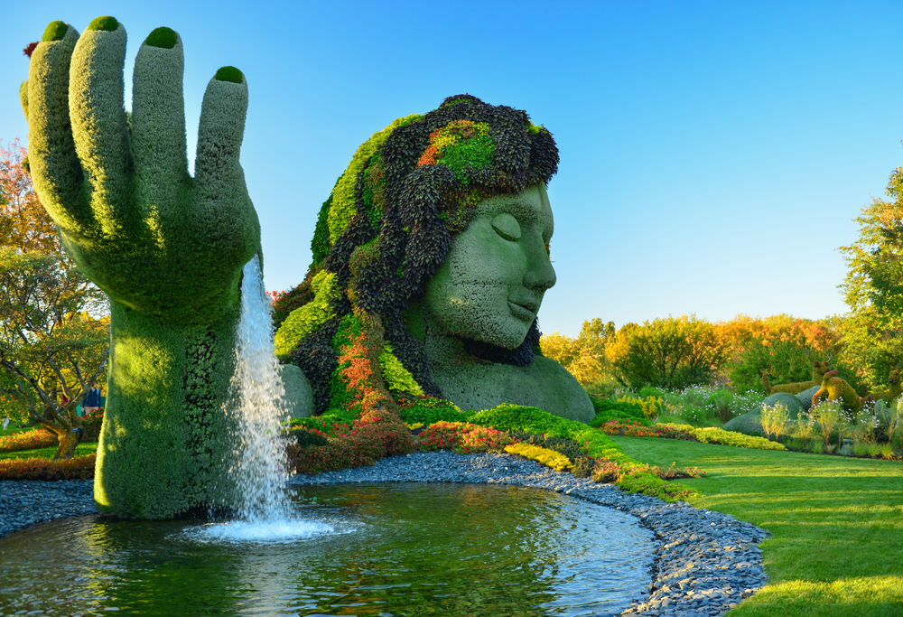 The Montreal Botanical Garden © Richard Cavalleri / Shutterstock