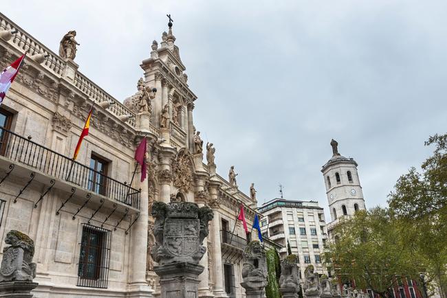 Baroque facade of Valladolid University | © Andres Garcia Martin/Shutterstock