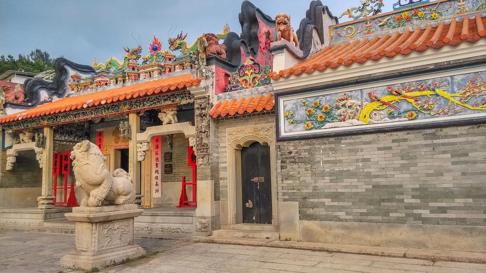 A Tin Hau Temple on Cheung Chau Island │© e X p o s e/Shutterstock