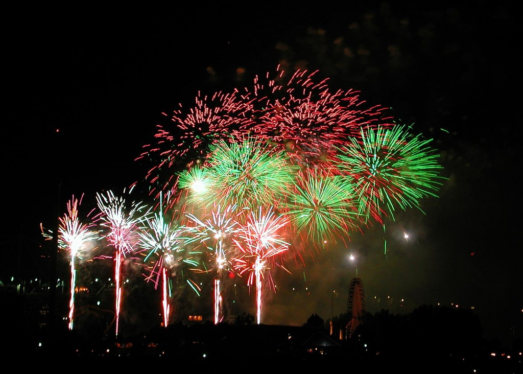 Montreal International Fireworks Competition © Tootles / Shutterstock
