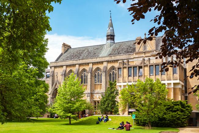 Balliol College of Oxford University   © ANdrei Nekrassov/Shutterstock