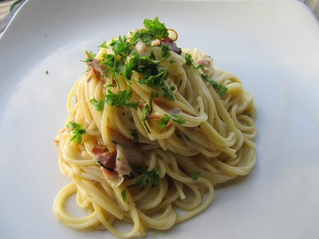 Spaghetti Carbonara| © Jo del Corro/flickr