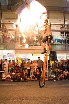 Street Performer Seb Wipits | Courtesy of London Fringe Festival