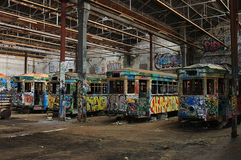Sydney_trams_vandalised_and_forgotten
