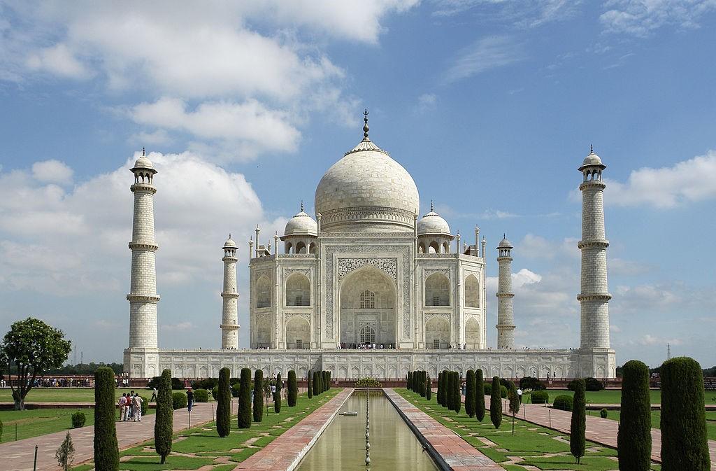 Taj Mahal,2010/©Yann/WikiCommons