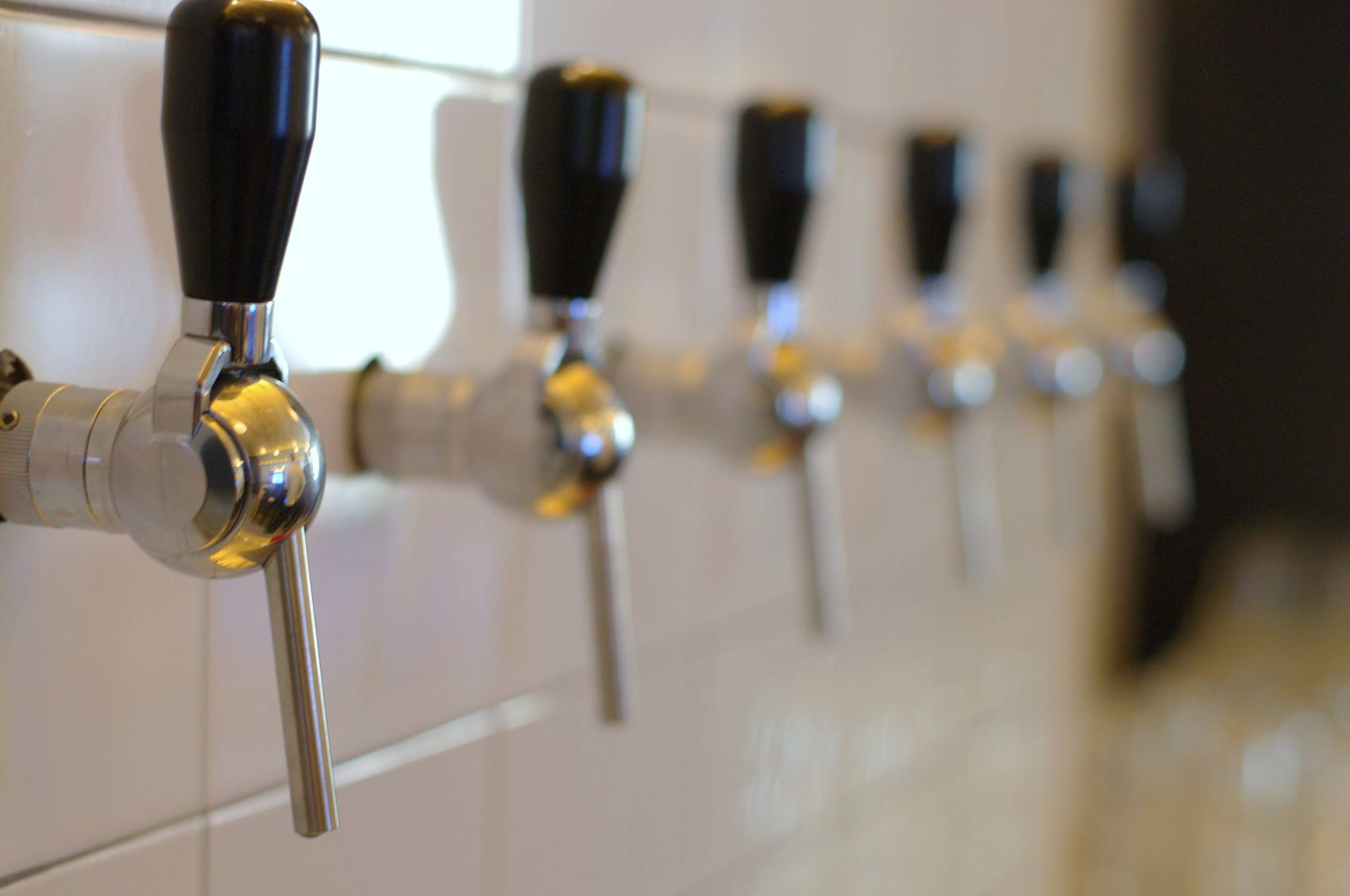Taps ready to flow | Courtesy Maquila Bar