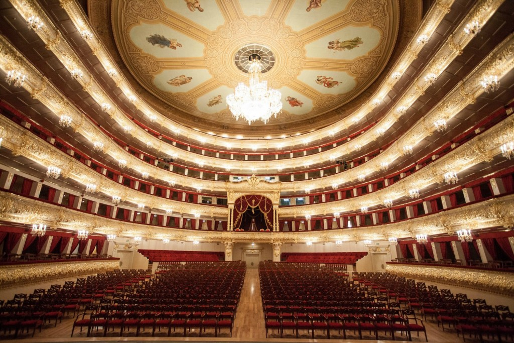 The Bolshoi Theater, Moscow | © Damir Yusupov/Courtesy The Bolshoi Theater