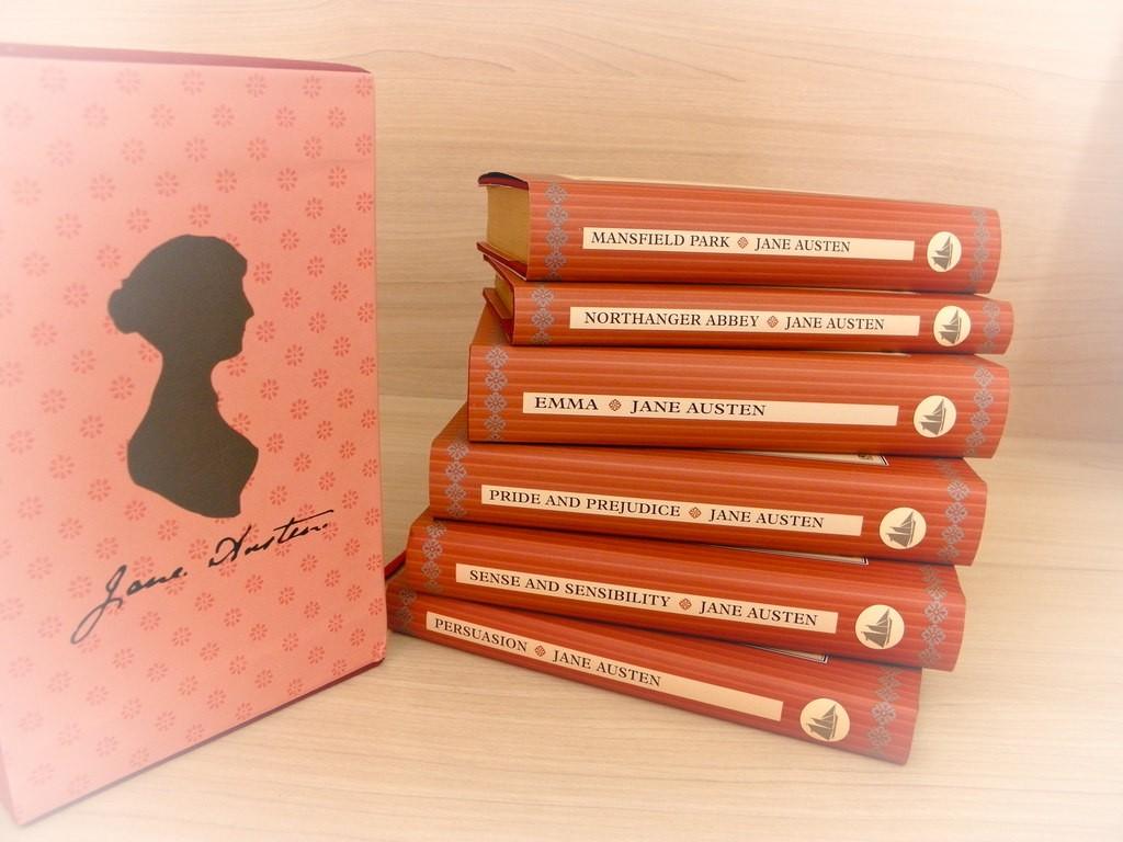 The essential Austen collection   © Thalita Carvalho / Flickr