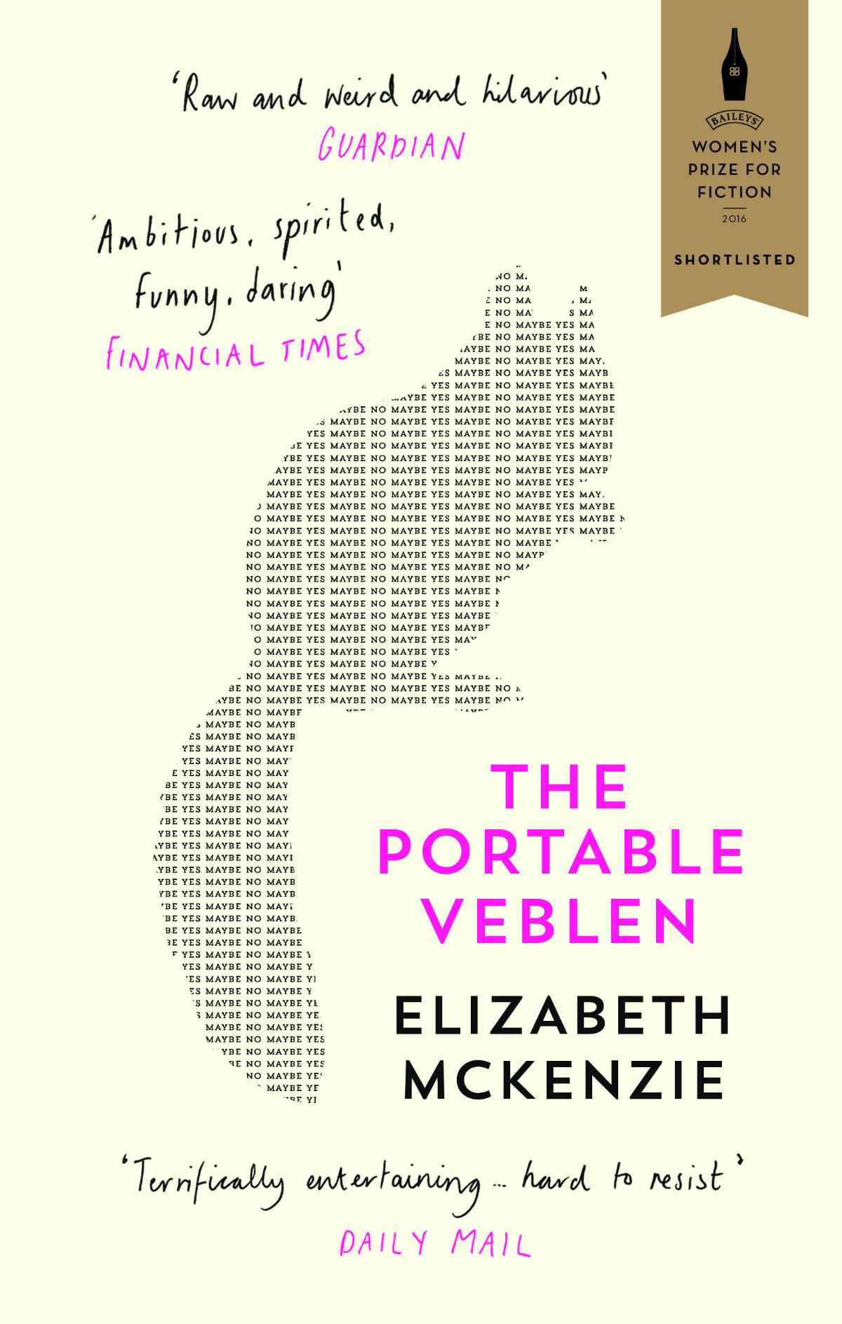 The Portable Veblen - Elizabeth McKenzie | © Fourth Estate