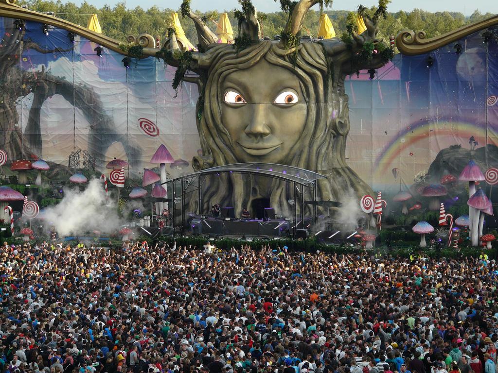Tomorrowland 2011   © Eddy Van 3000/Flickr