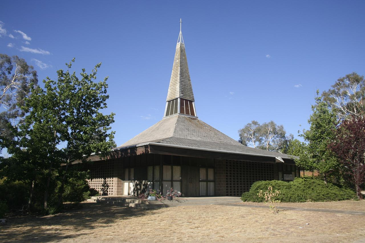 Trinity Chruch designed by Frederick Romberg, ©Rory Hyde, Wikki Commons