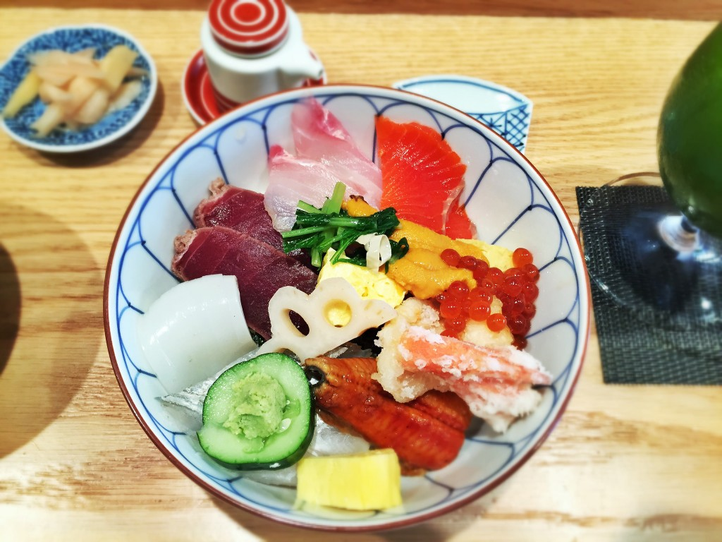 Bara Chirashi at Tsujita | ©T.Tseng/Flickr
