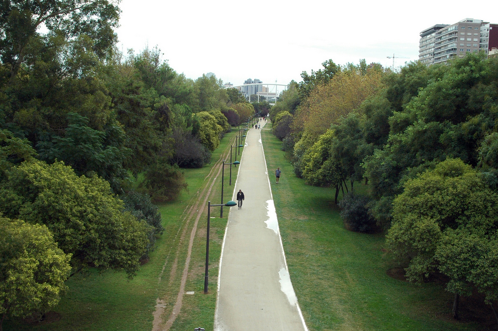 The most beautiful parks and gardens in valencia for Jardines de turia