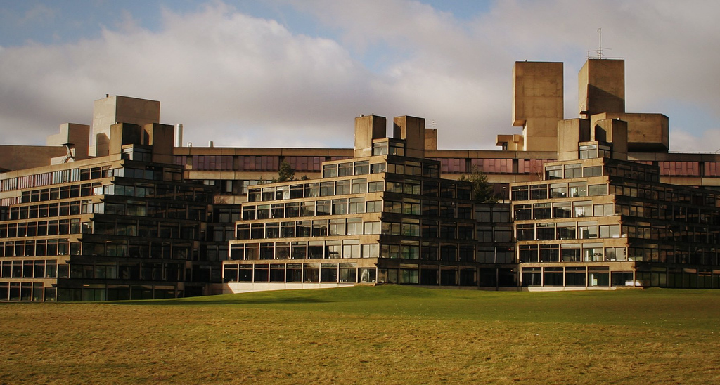 Ziggurat Halls at the University of East Anglia | © blank space ...