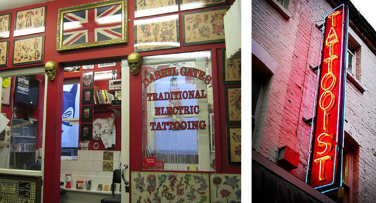 The best tattoo parlours in london for Tattoo shops in london