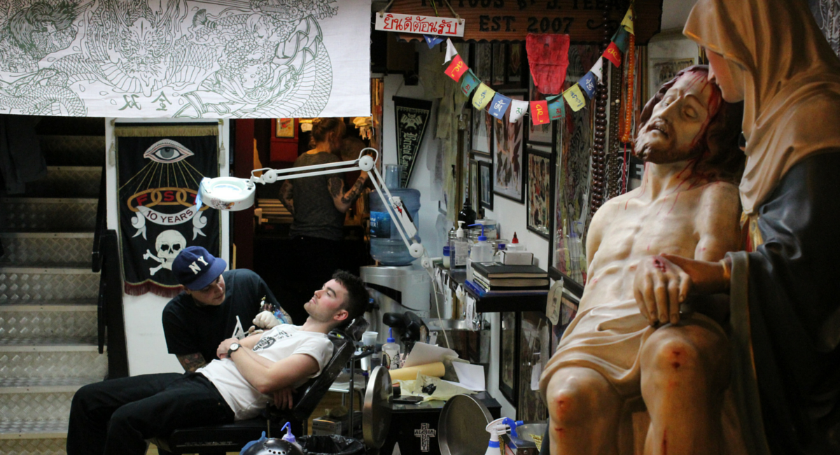 the best tattoo parlours in london