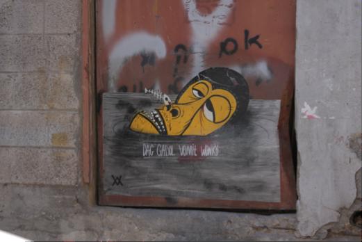 Wonky in South Tel Aviv, Courtesy of Jesi Soifer