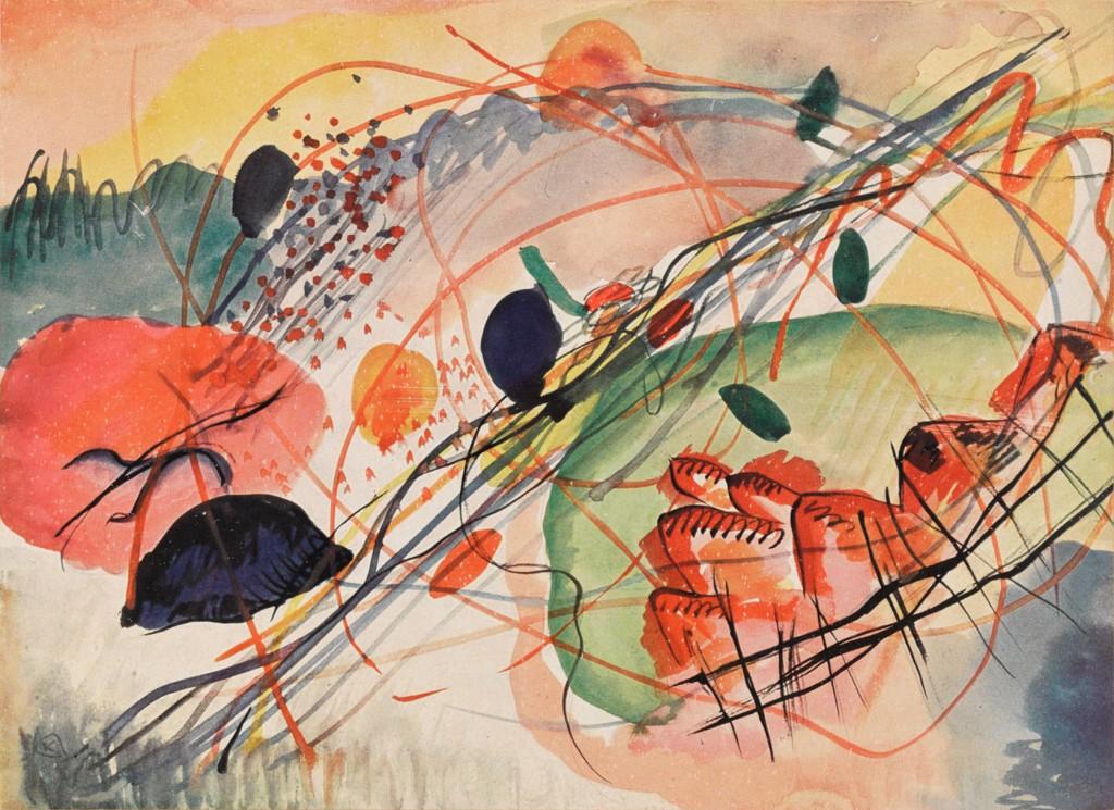 Improvisation 27 © Wassily Kandinsky