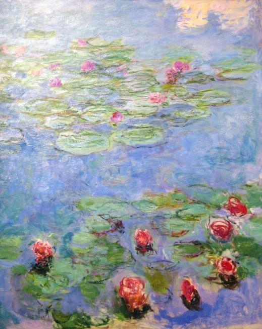 Monet's Water lilies| ©HarshLight/Fllickr