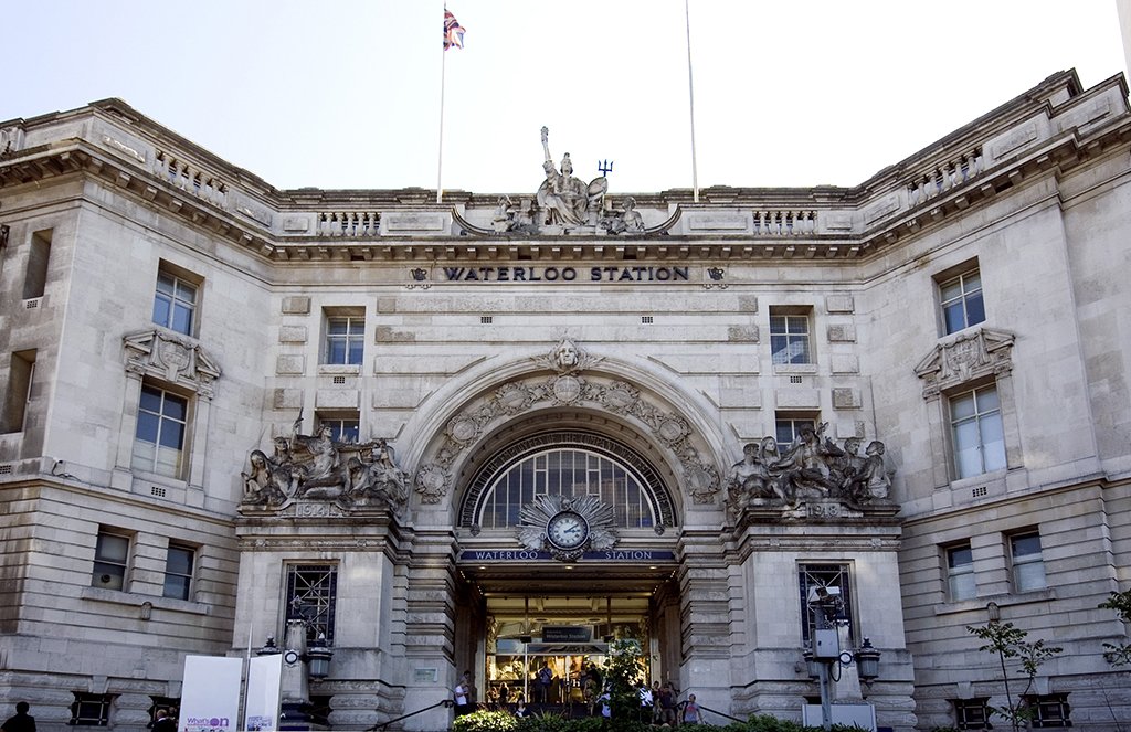 Waterloo Station Exteriors © Prioryman/WikiCommons