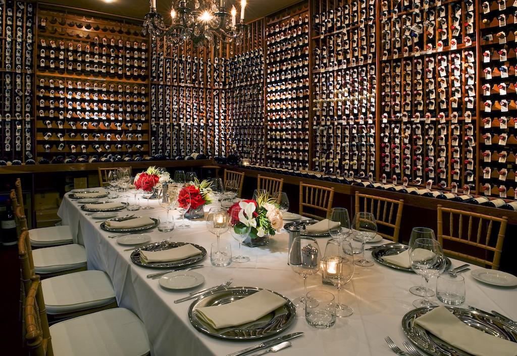 Wine Cellar at Valentino | © Courtesy of Ryan Forbes