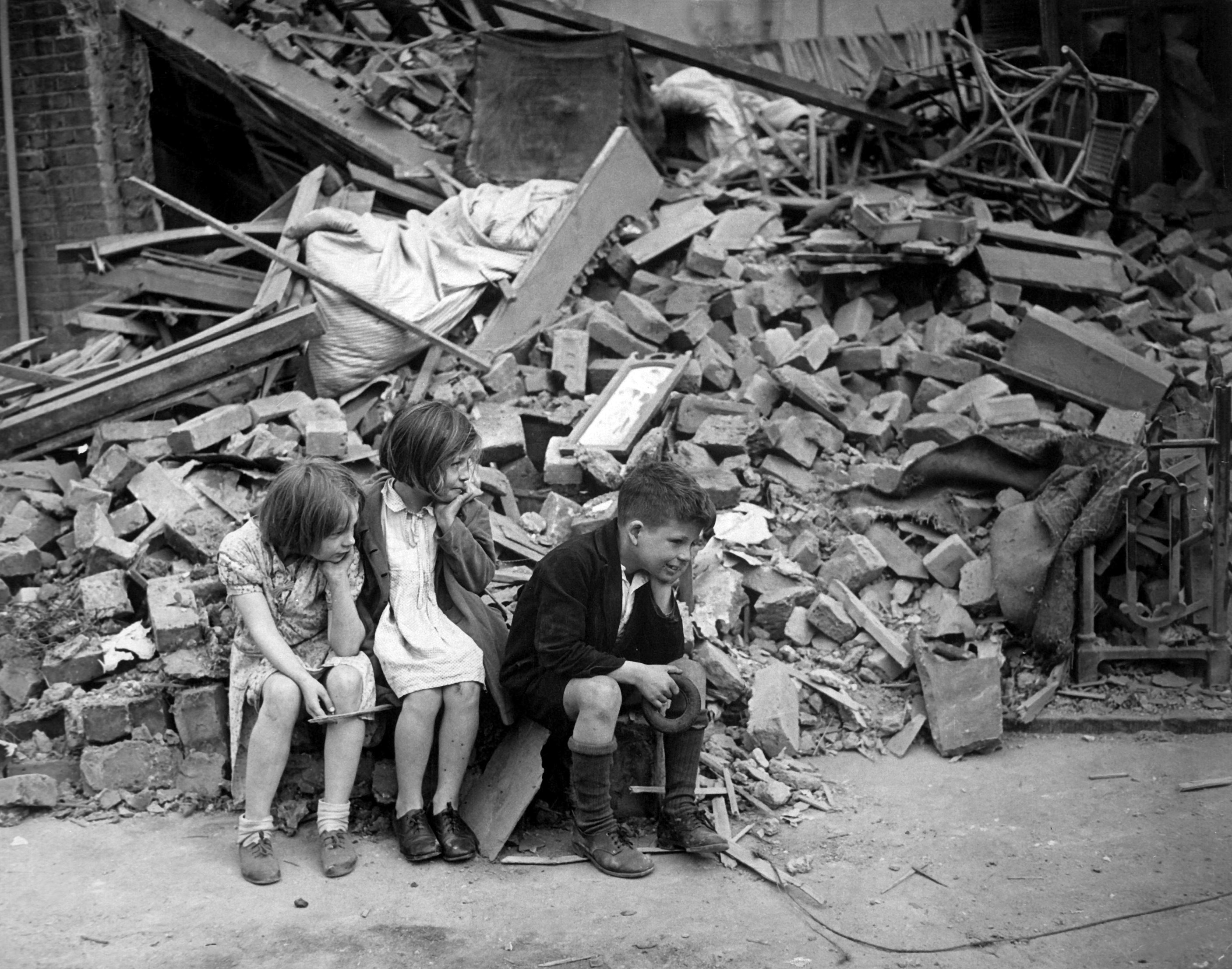 London Blitz | ©Sue Wallace /WikiCommons