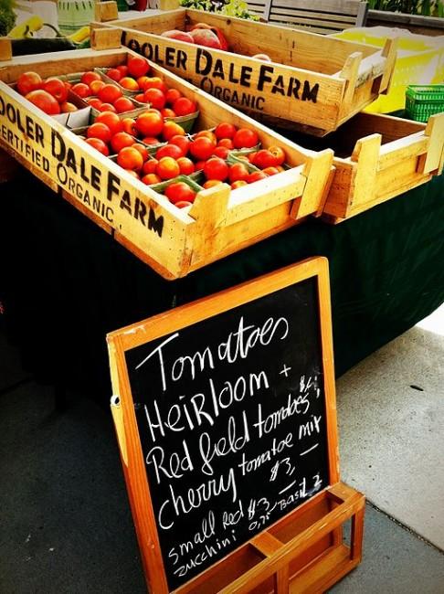 Wychwood Tomatoes | © Michael Tutton / WikiCommons