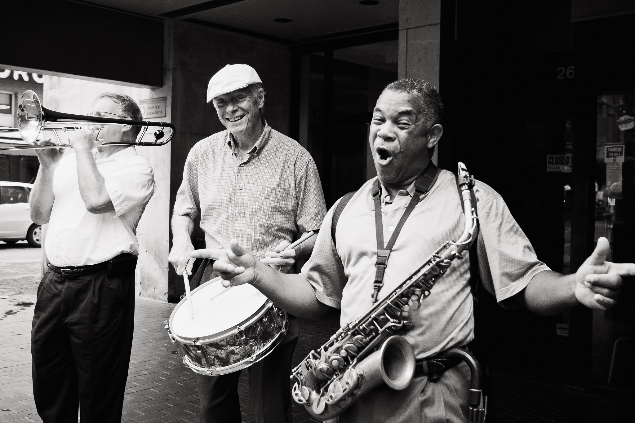 Street Jazz Band | © Jesse Acosta/Flickr