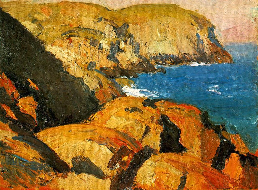 Edward Hopper - Blackhead, Monhegan | © WikiCommons