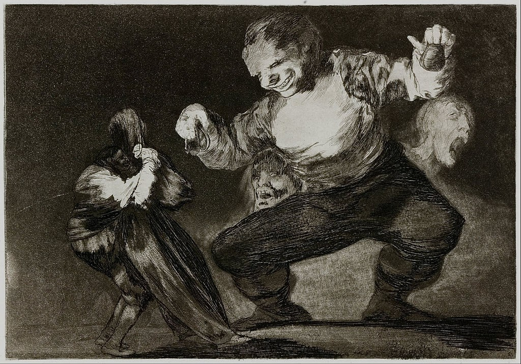 Los disparates by Francisco de Goya | © Public Domain/WikiCommons