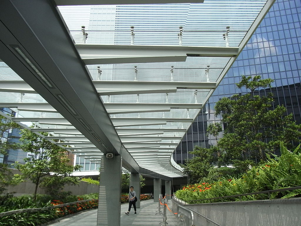 Covered Walkway Construction : How to spend hours in hong kong