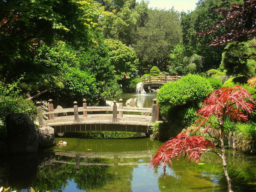 San Mateo Japanese Garden | © Daderot/WikiCommons