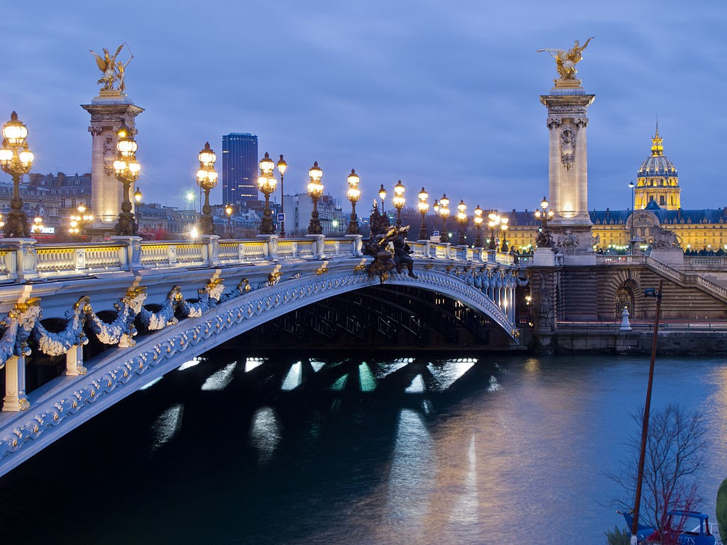 19 images of the most beautiful bridges in paris. Black Bedroom Furniture Sets. Home Design Ideas