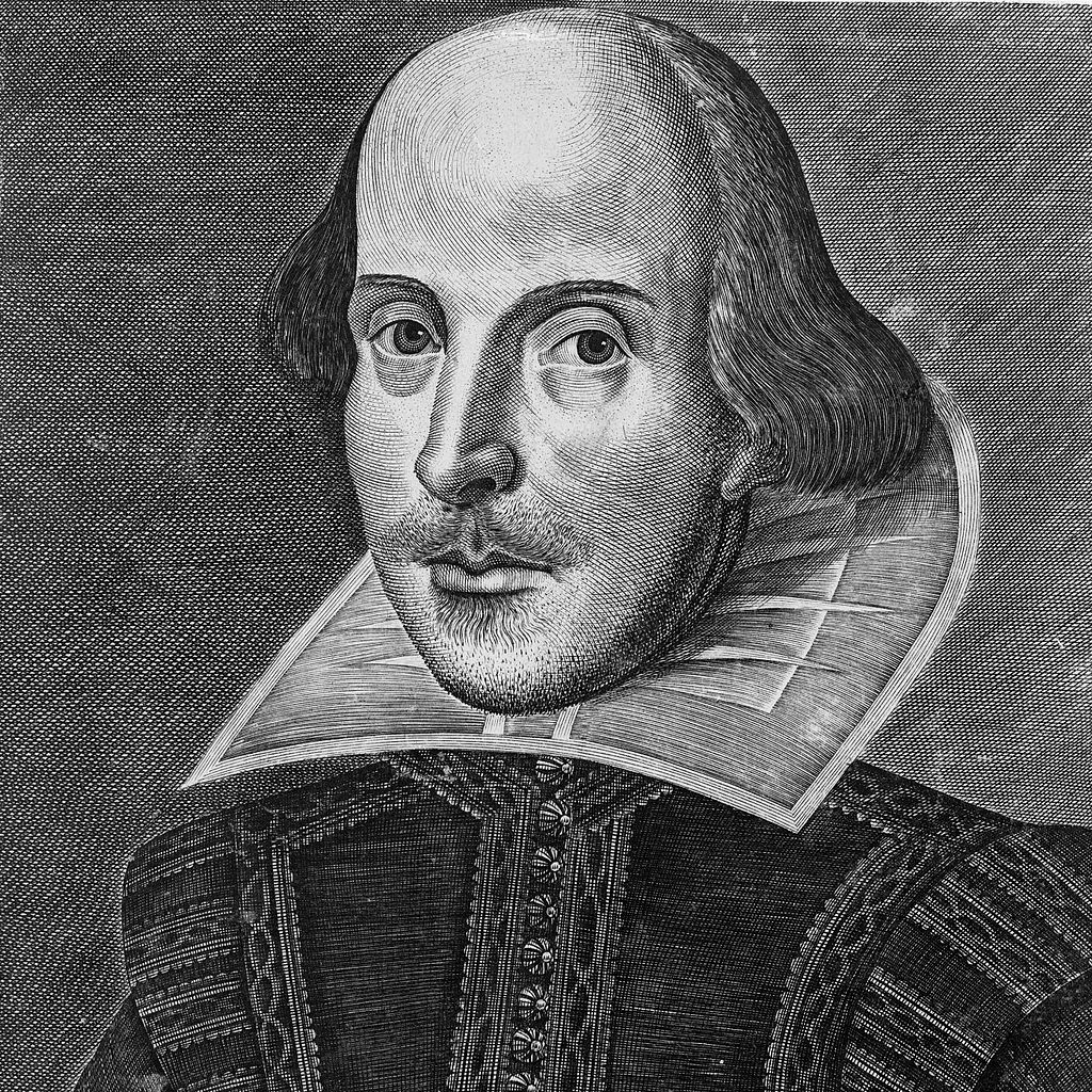 Shakespeare engraving by Martin Droeshout | © Armbrust/WikiCommons
